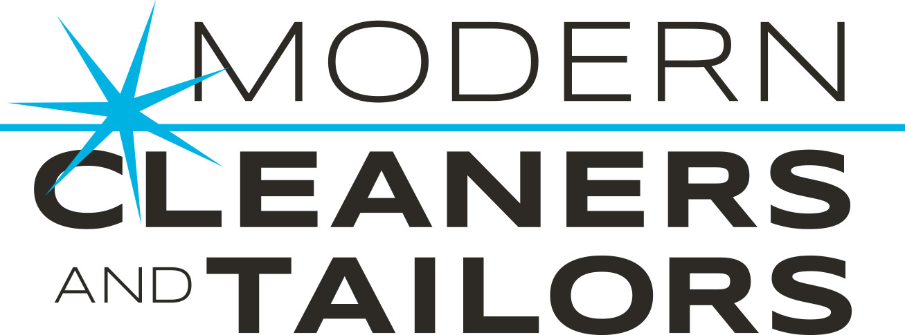 Modern Cleaners 2 color logo